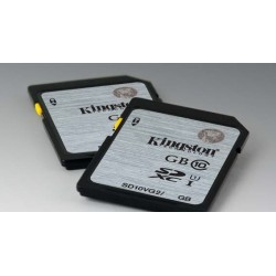 128 GB SDXC karta Kingston Class 10 UHS-I ( r45MB/s, w10MB/s ) SD10VG2/128GB