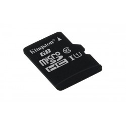 128 GB microSDHC/SDXC karta Kingston Class 10 UHS-I (r45MB/s, w10MB/s ) SDC10G2/128GBSP