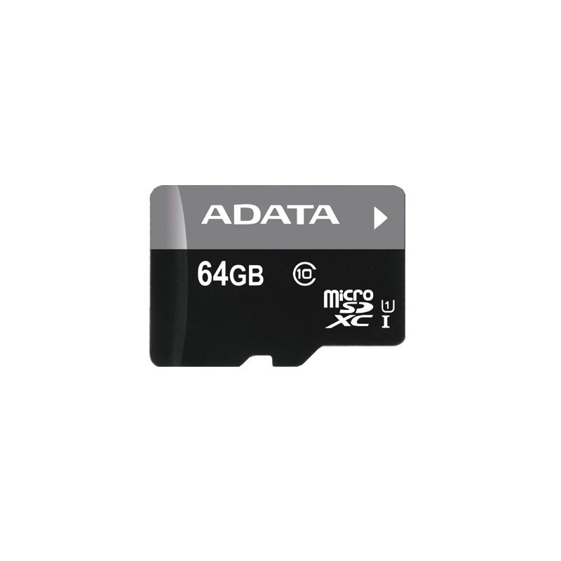 64 GB microSDHC/SDXC UHS-I karta A-DATA class 10 Ultra High Speed AUSDX64GUICL10-R