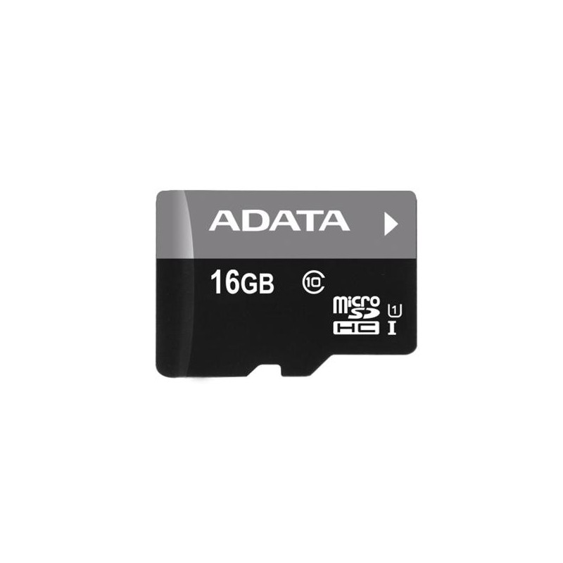 16 GB microSDHC/SDXC UHS-I karta A-DATA class 10 Ultra High Speed + adaper AUSDH16GUICL10-RA1