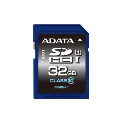 32 GB SDXC/SDHC Premier UHS-I karta A-DATA class 10 Ultra High Speed ASDH32GUICL10-R