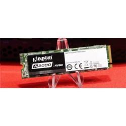 Kingston 250GB A2000 SSD PCIe Gen3 x4 NVMe M.2 2280 (6Gbps) (...