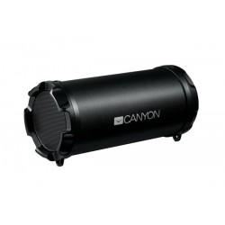 Canyon CNE-CBTSP5 Bluetooth V4.2 Party reproduktor, 3.5mm mini jack, micro USB, microSD, FM rádio1500mAh polymer, čierny