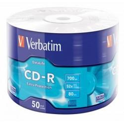 CD-R VERBATIM DTL Extra Protection 700MB 52X 50ks/spindel 43787