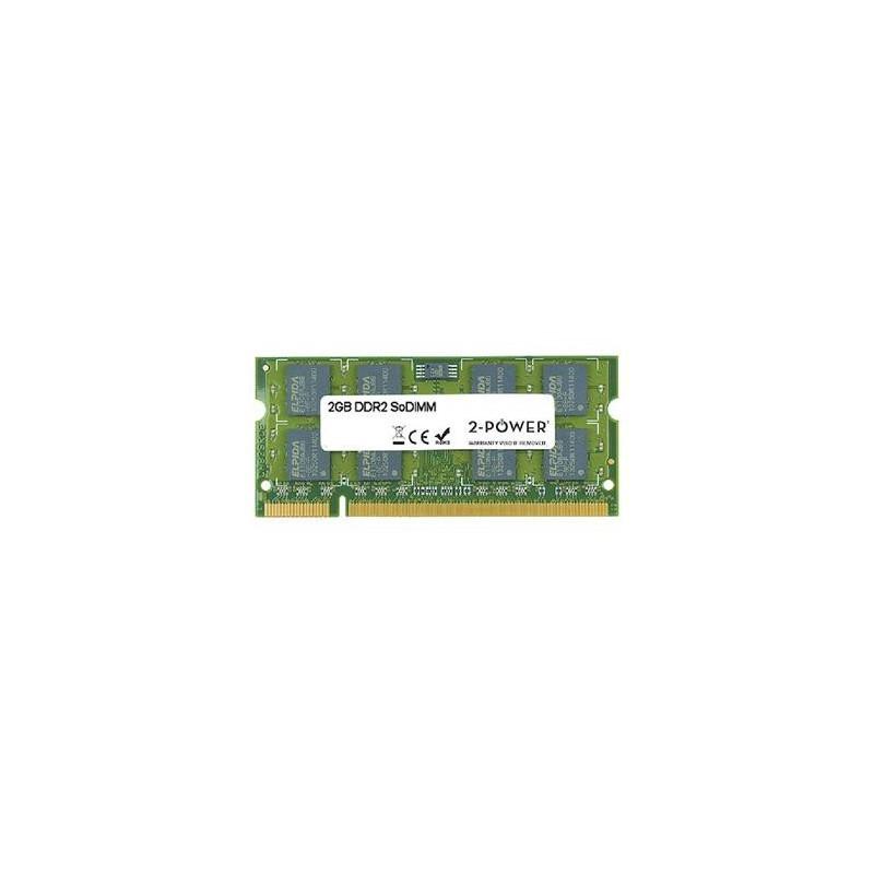 2-Power 2GB MultiSpeed 533/667/800 MHz DDR2 SoDIMM 2Rx8 MEM0702A