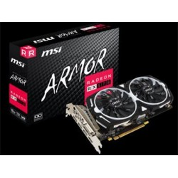 MSI RX 570 ARMOR 8G OC, 8GB GDDR5, 256bit, DVI, HDMI, 3xDP
