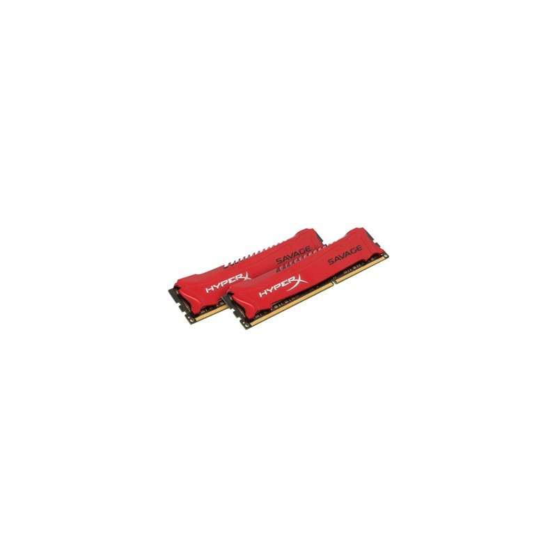 KINGSTON HyperX Savage RED 16GB DDR3 HX324C11SRK2/16