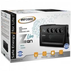 INFOSEC ZEN Live 1000 VA 600W 66084