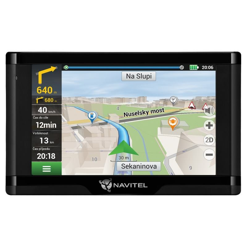 NAVITEL GPS Navigácia E500 TMC Magnetic
