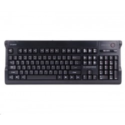 ZALMAN klávesnice ZM-K600S, herná, mute, PS2/USB, ENG layout, unlimited multikey input, čierna