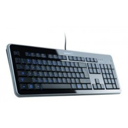 CONNECT IT čierna klávesnica SK, LED podsvietená, USB SKITCI118