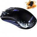 Canyon Paintball CND-SGM8 hráčska myš, drôtová, optická, 500/1000/1500/2000/3500 dpi, 20G, 4 tlac, USB,