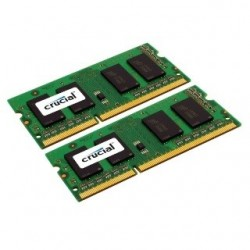 SO DIMM - CRUCIAL DDR3 8GB 1600 KIT CT2KIT51264BF160B