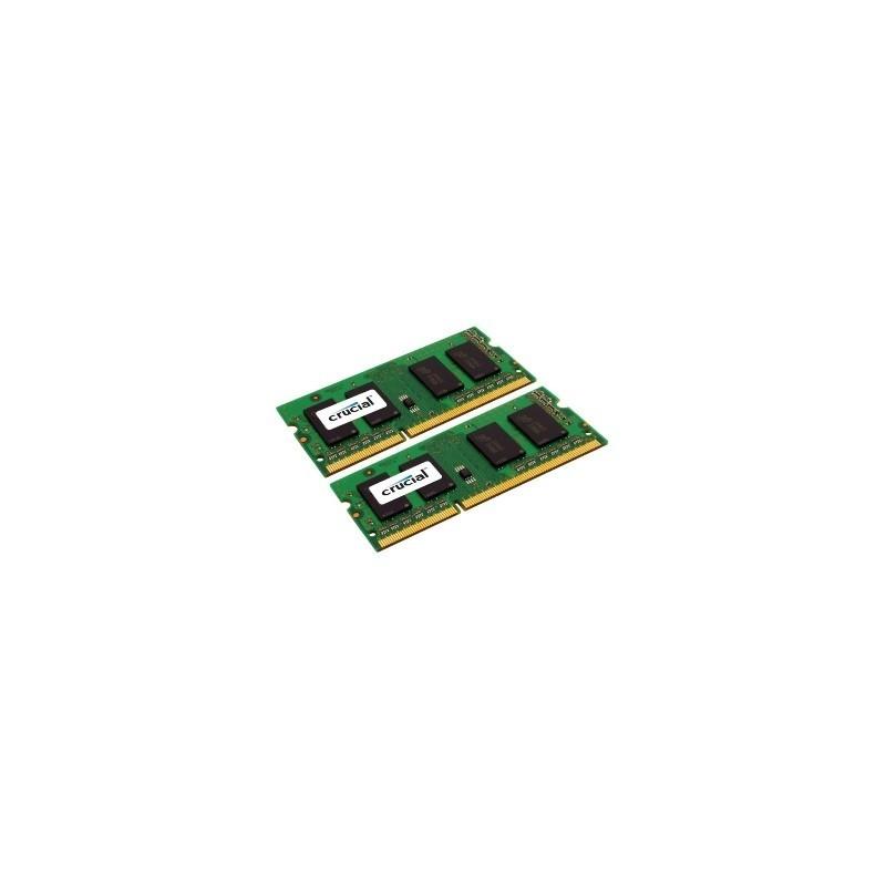 SO DIMM - CRUCIAL DDR3 8GB 1600 KIT CT2KIT51264BF160B