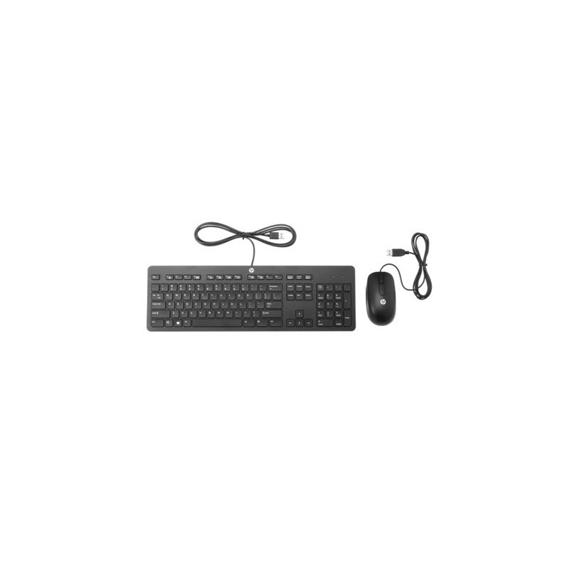 HP Slim USB Keyboard and Mouse T6T83AA#AKR