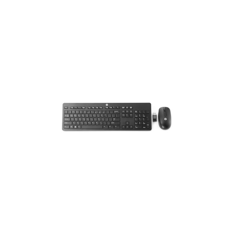 HP Wireless Slim Business Keyboard & Mouse N3R88AA#AKR