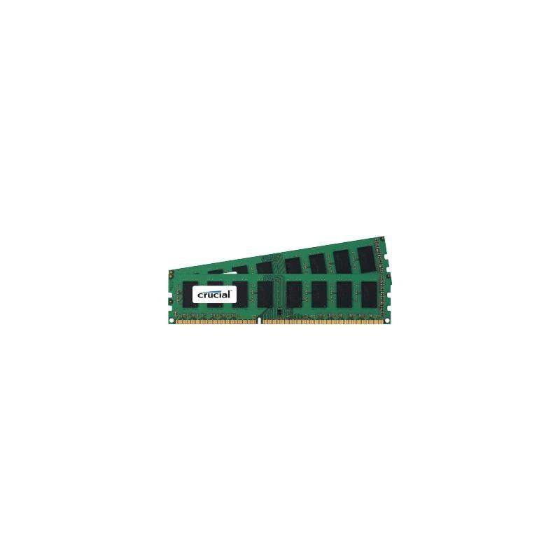 CRUCIAL - DDR3 2x8GB ECC 1600Hz CL11 KIT CT2KIT102472BD160B