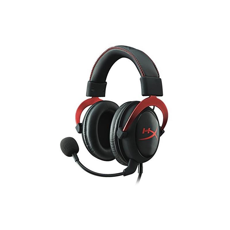 HyperX Cloud II - Pro Gaming slúchatka, červené KHX-HSCP-RD
