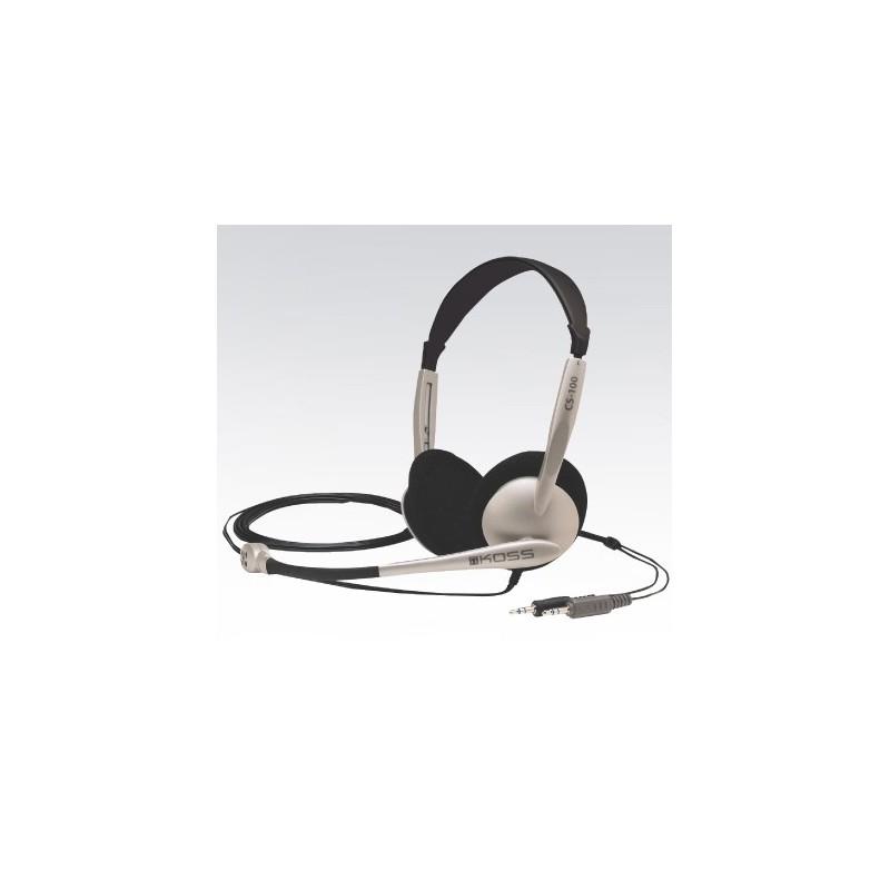 KOSS CS/100 sluchatka s mikrofonom