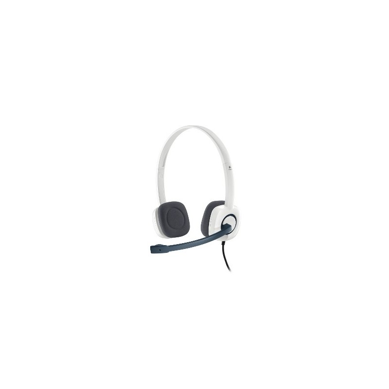 Logitech Stereo Headset H150 - CLOUD WHITE - ANALOG - EMEA 981-000350