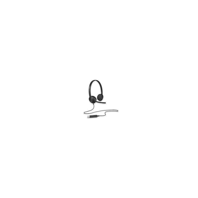 Logitech USB Headset H340 - BLACK - USB - EMEA 981-000475