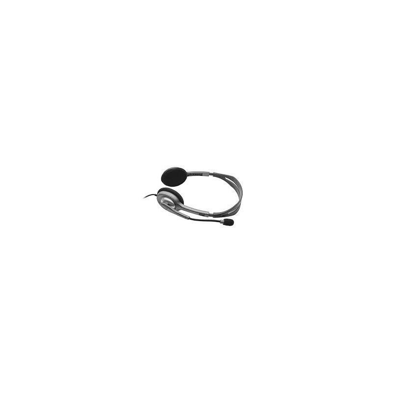 Logitech Stereo Headset H111 - ANALOG - EMEA 981-000593
