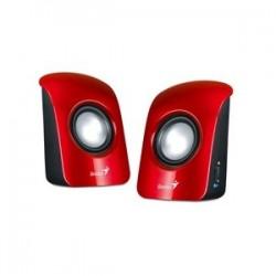 Genius repro SP-U115, prenosné, USB, červené GESPU115R