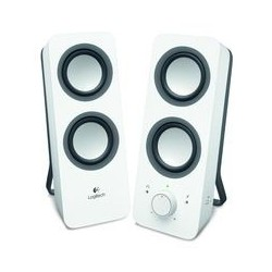 Logitech z200 Multimedia Speakers - SNOW WHITE - 3.5 MM - EU 980-000811