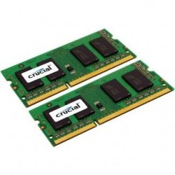 SO DIMM - CRUCIAL 2x2GB DDR2 800MHz CL6 CT2KIT25664AC800