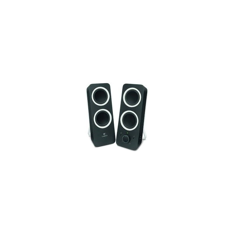 Logitech z200 Multimedia Speakers - MIDNIGHT BLACK - 3.5 MM - EU 980-000810