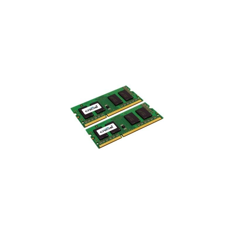 SO DIMM - CRUCIAL 2x2GB DDR3 1600MHz CL11 CT2KIT25664BF160B