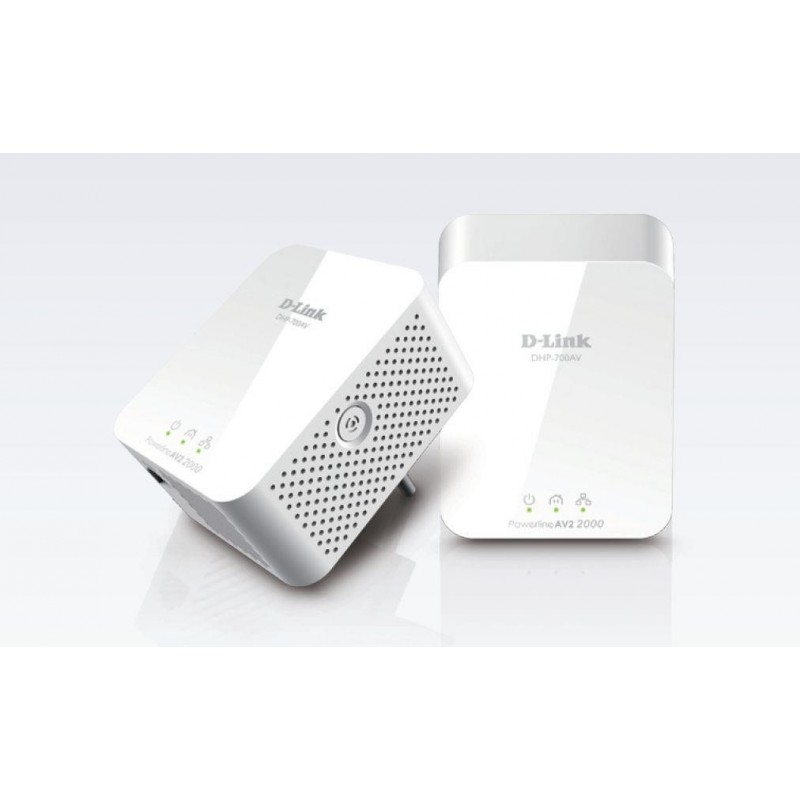 D-Link PowerLine AV2 2000 HD Gigabit Starter Kit DHP-701AV/E