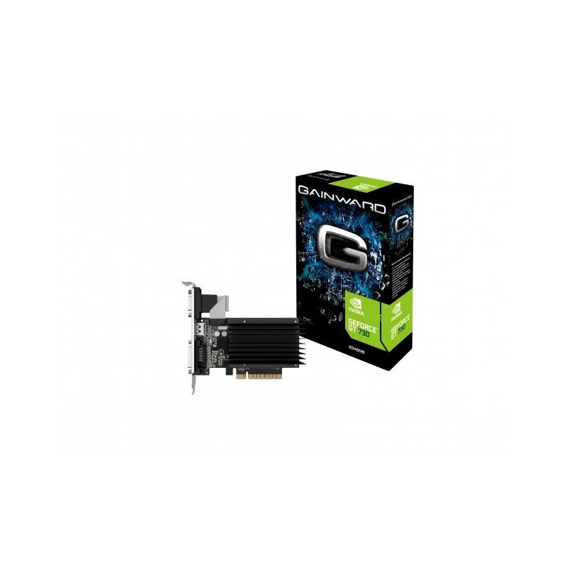 GAINWARD GeForce GT 730 SilentFX, 2GB DDR3 (64 Bit), HDMI, DVI, VGA 426018336-3224