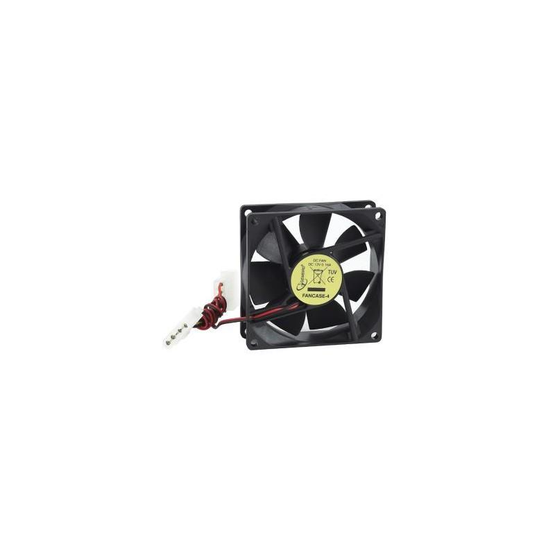 Gembird ventilátor pre PC case, 80x80mm, 4 pin konektor FANCASE-4