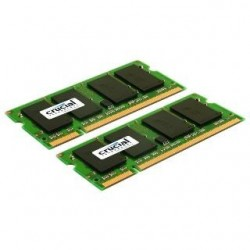 SO DIMM - CRUCIAL 2x2GB DDR2 667MHz CL5 CT2KIT25664AC667