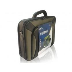 Natec PITBULL taška na notebook 17.0', olivovo čierna + puzdro na...