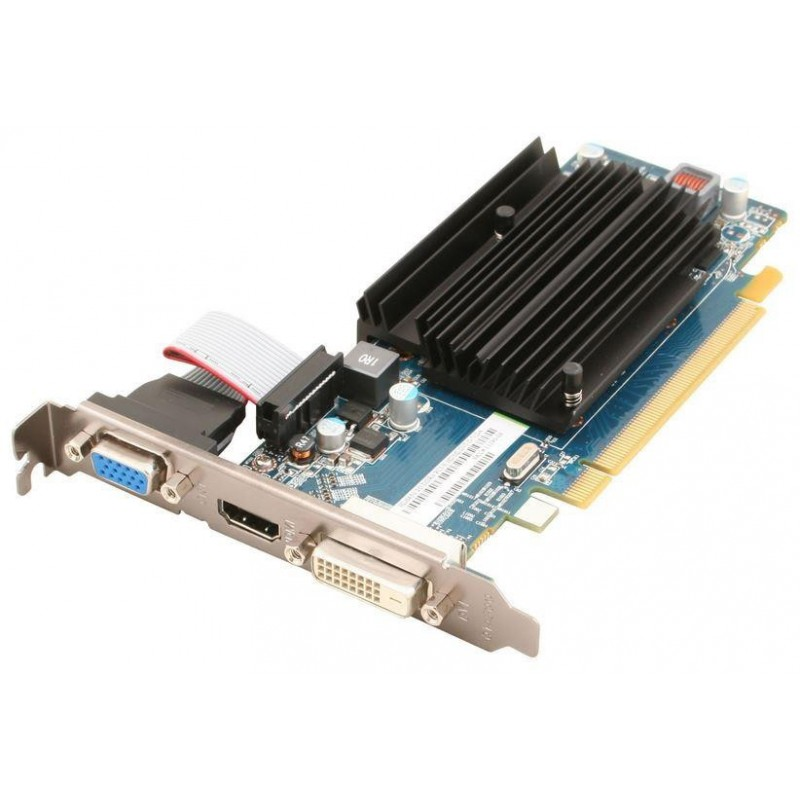 Sapphire Radeon HD 6450, 2GB DDR3 (64 Bit), HDMI, DVI, VGA, LITE 11190-09-20G