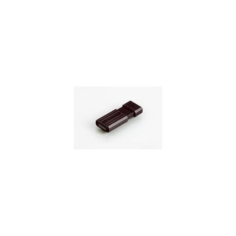 Verbatim PinStripe Series 8GB USB 2.0 flashdisk (10MB/s; 3MB/s), čierny 49062