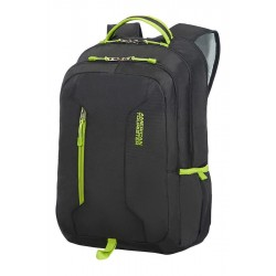 Backpack American T. 24G29004 UG4 15.6' comp, docu, pockets, blk/lime green 24G-29-004