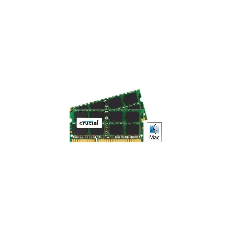 SO DIMM - CRUCIAL 2x4GB 1066MHz DDR3 CT2C4G3S1067MCEU