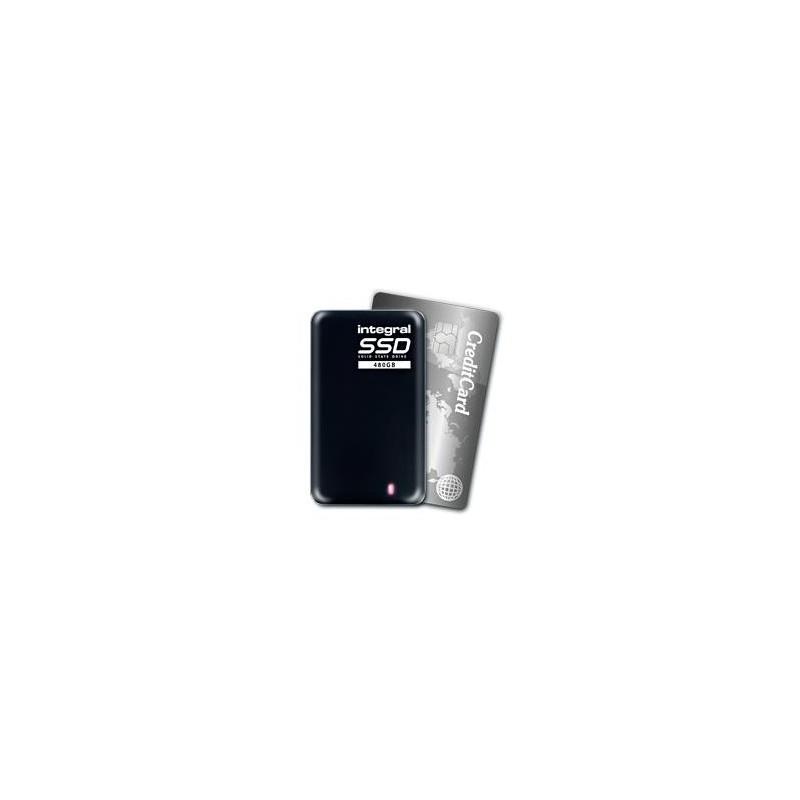 Integral PORTABLE SSD EXTERNAL, 240GB, USB3.0, R/W 400/370 MB/s INSSD240GPORT3.0