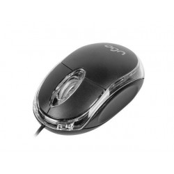 UGO Optic mouse SIMPLE 1000 DPI, Black UMY-1007