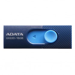 ADATA Flash Drive UV220, 16GB, USB 2.0, modro-tmavo modrá...