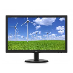 Monitor Philips 243S5LDAB/00, 23,6', D-Sub/DVI/HDMI, speakers