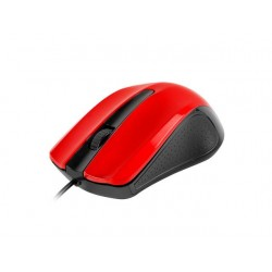 UGO Optic mouse 1200 DPI, Red-Black UMY-1214