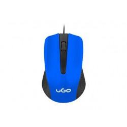 UGO Optic mouse 1200 DPI, Blue-Black UMY-1215