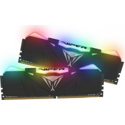 Patriot Viper RGB DDR4 16GB DUAL KIT (2x8GB) 4133Mhz CL19, čierna...