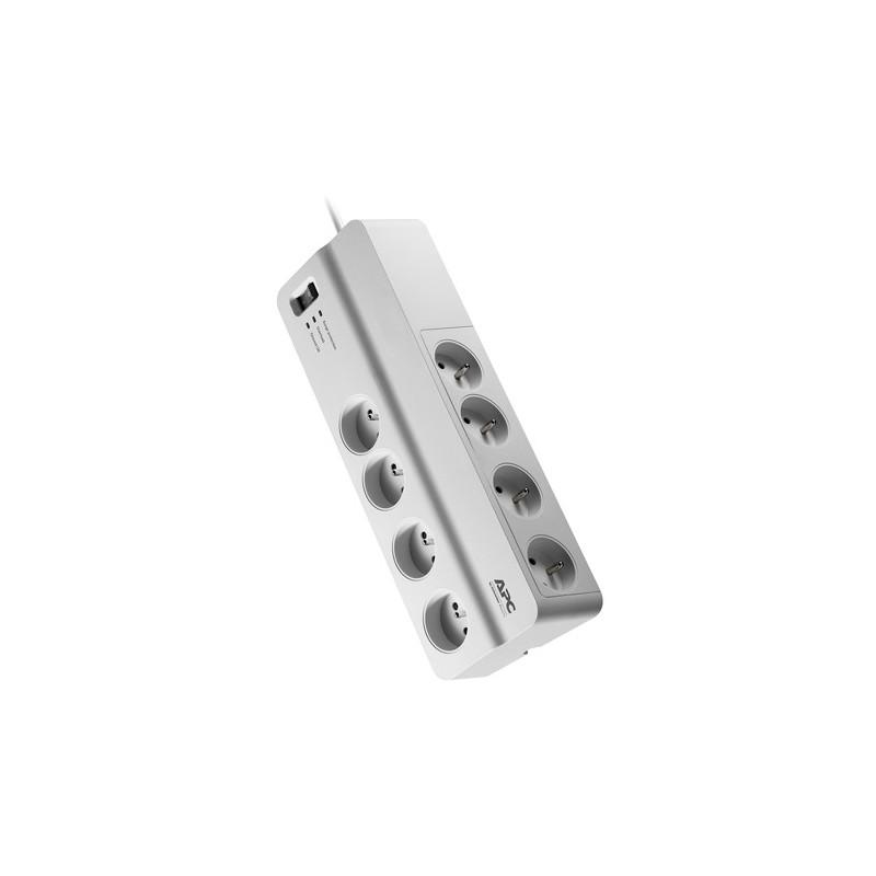 APC Essential SurgeArrest - prepäťová ochrana 8 zás., 2m prívodný kábel PM8-FR