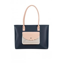 Tote Bag American T. 65G11003 LUNA POP 14,1' comp,doc,pock,dark navy/pink 65G-11-003