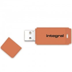 INTEGRAL USB flash disk NEON 2.0 64GB oranžový INFD64GBNEONOR